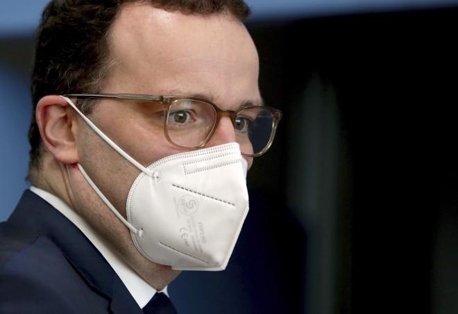 O υπουργός Υγείας της Γερμανίας, Γενς Σπαν