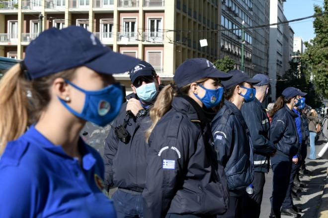 αστυνομία στο κέντρο
