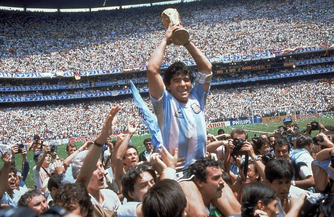 Ντιέγκο Μαραντόνα από το παγκόσμιο πρωτάθλημα του 1986