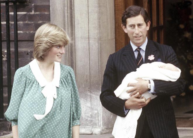 Πριγκίπισσα Νταϊάνα Κάρολος γιος