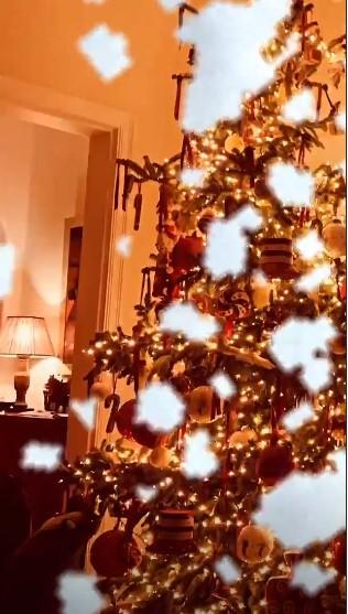 Μπαλατσινού Χριστουγεννιάτικο δέντρο