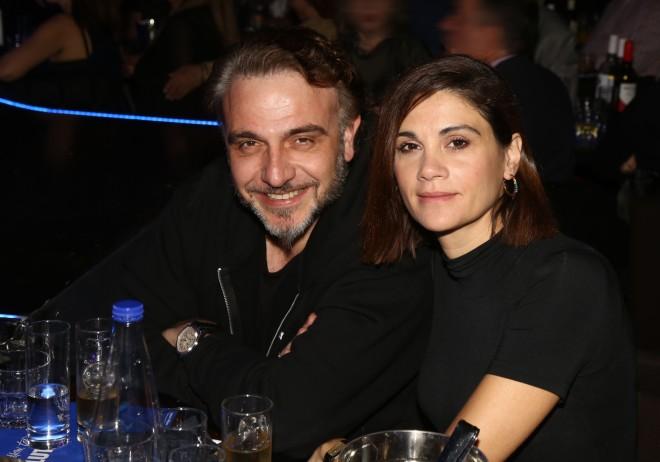 Η Άννα Μαρία Παπαχαραλάμπους και ο Φάνης Μουρατίδης