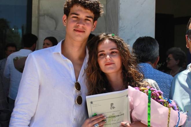 Ανδρέας GNTM με την αδελφή του