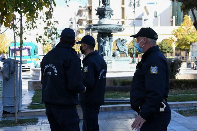 αστυνομία lockdown