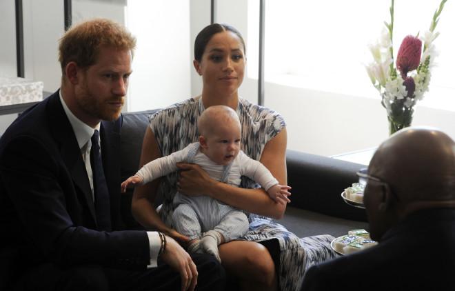 Πρίγκιπας Harry - Meghan Markle - Archie