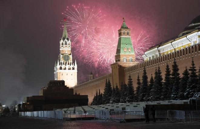 Μόσχα πρωτοχρονιά