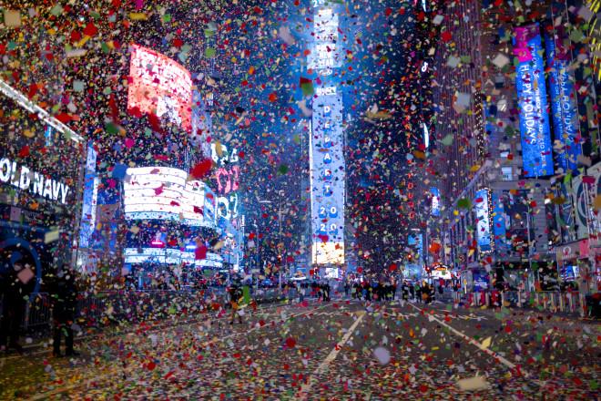 Νέα Υόρκη πρωτοχρονιά