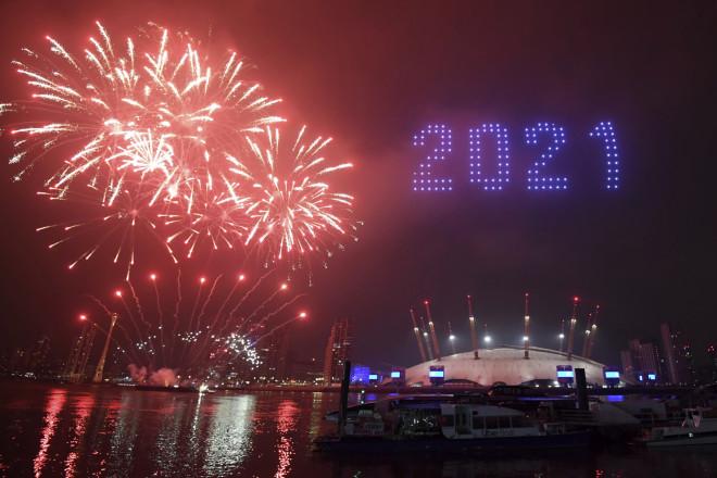 Λονδίνο πρωτοχρονιά