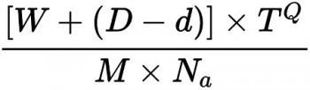 Blue Monday μαθηματικός τύπος