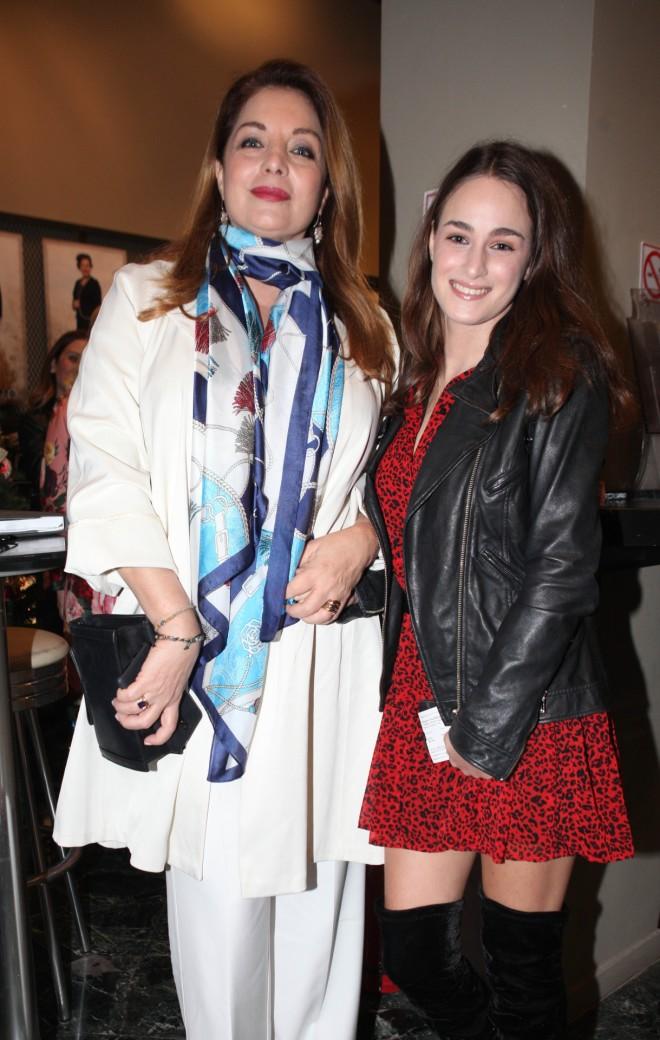 Η Άντζελα Γκερέκου με την κόρη της, Μαρία