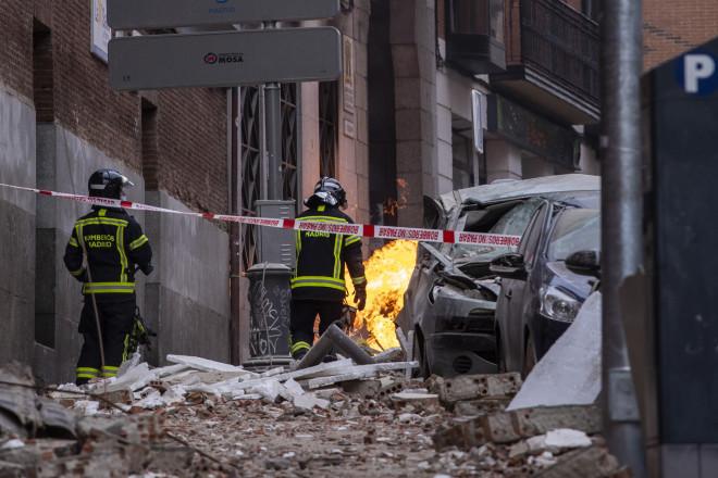 έκρηξη Μαδρίτη