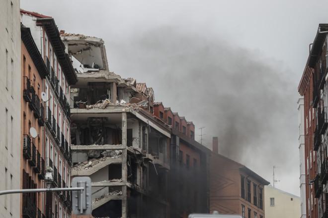 έκρηξη Μαδρίτη - ζημιές