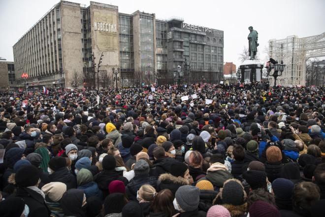 διαδηλώσεις Ναβάλνι