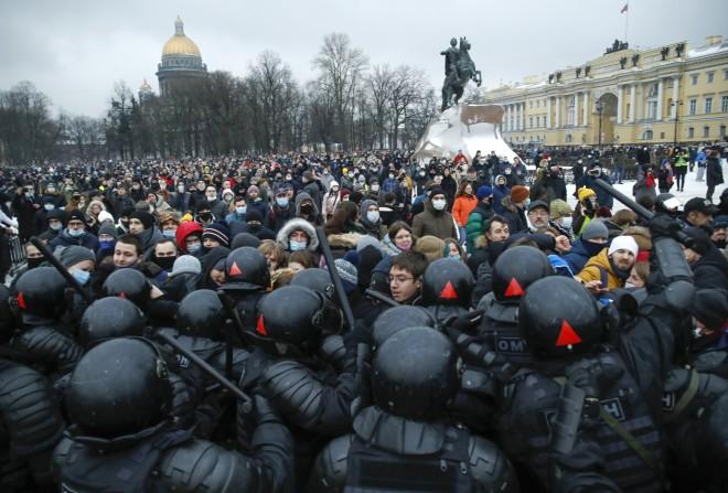 Ναβάλνι - διαδηλώσεις