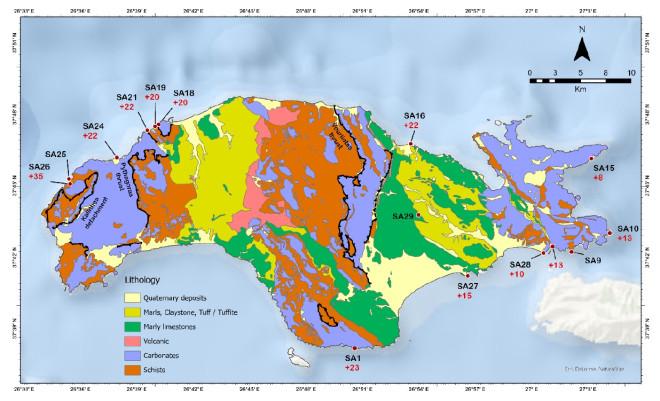 Αλλαγές στο νησί μετά τον σεισμό του Οκτωβρίου 2020