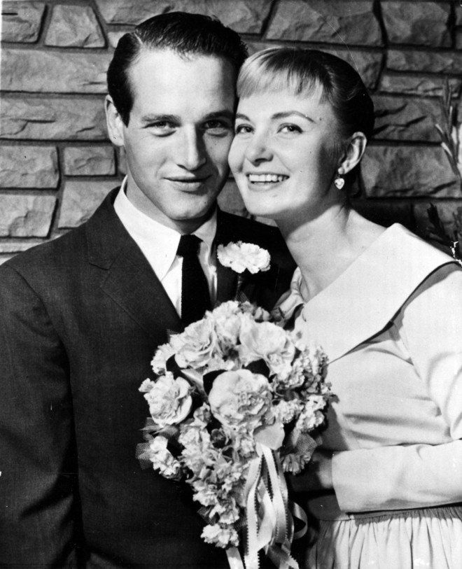 Joanne Woodward Paul Newman γάμος