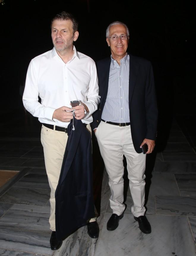 Απόστολος Γκλέτσος Νίκος Φρονιμόπουλος