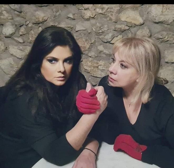 Βάσια Παναγοπούλου και Άννα Ανδριανού