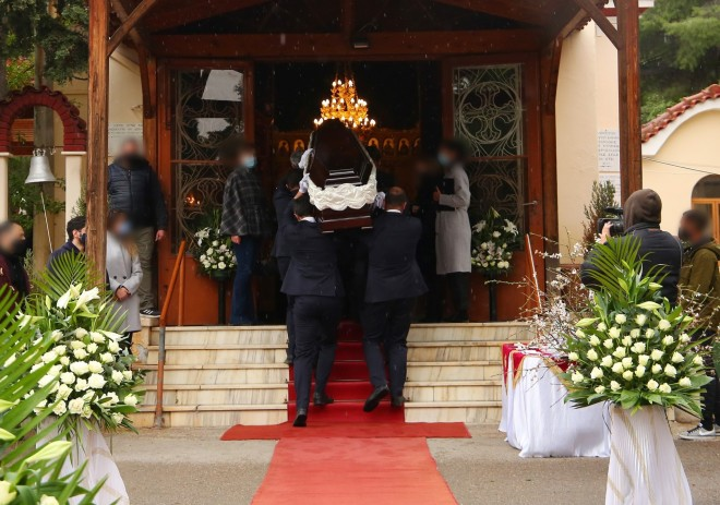 Κηδεία Αντώνη Καλογιάννη