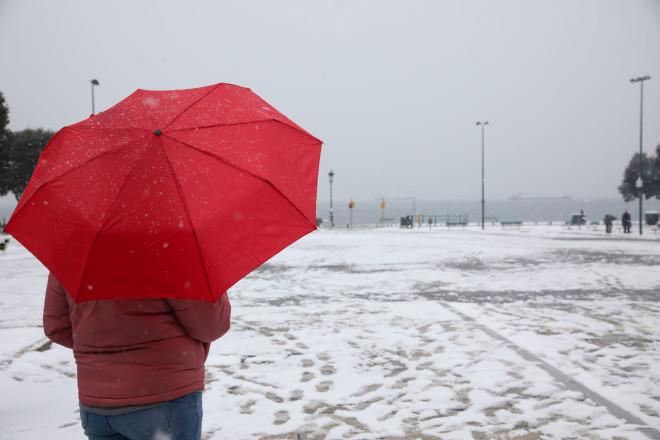 Χιόνια Θεσσαλονίκη
