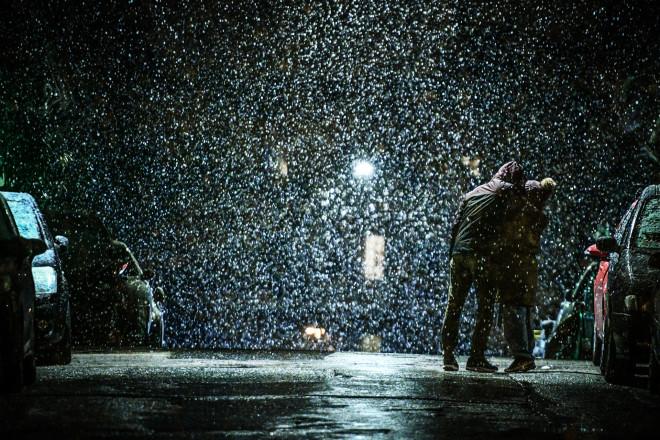 χιόνια Αθήνα