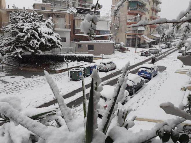 Ταύρος Χιόνι