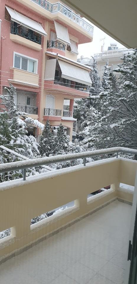 Πετρούπολη χιόνι