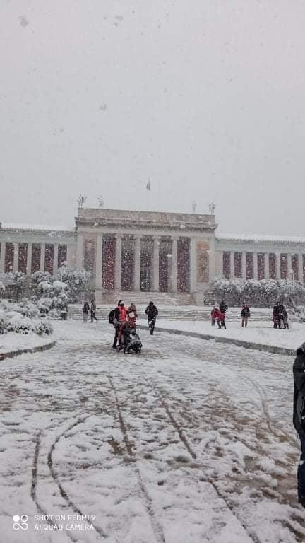 χιόνια κέντρο