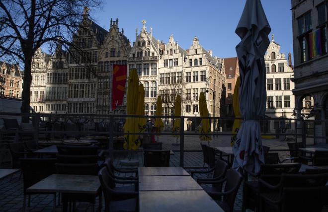 Απαγόρευση κυκλοφορίας στο Βέλγιο- φωτογραφία ΑΡ