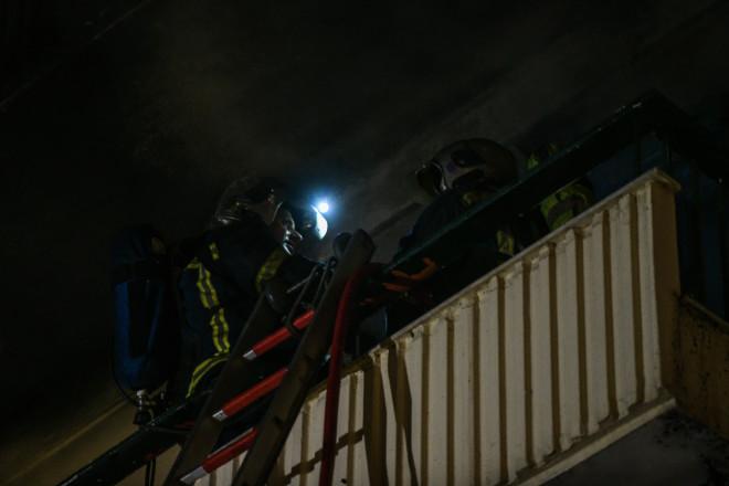 φωτιά διαμέρισμα Παγκράτι