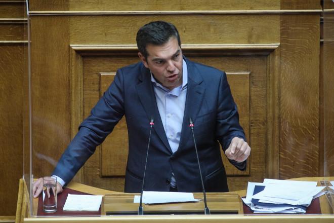 Αλέξης Τσίπρας Βουλή δευτερολογία