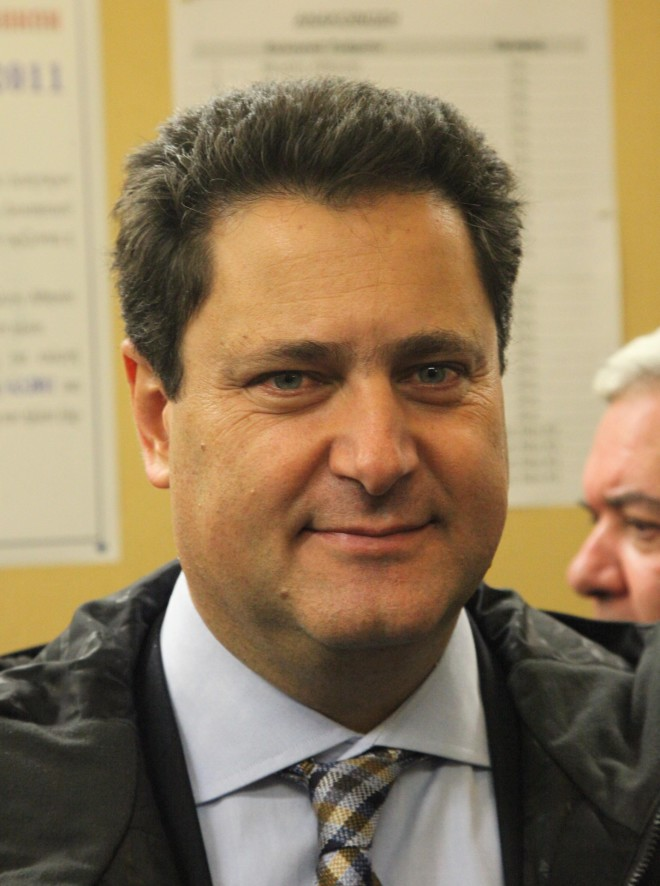 O Μιχάλης Ζαφειρόπουλος- φωτογραφία Eurokinissi
