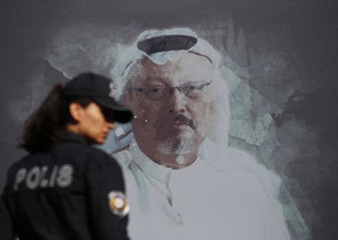 Πορτραίτο τουδημοσιογράφου Τζαμάλ Κασόγκι- φωτογραφία ΑΡ