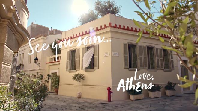 Εικόνα από την Πλάκα στην Αθήνα