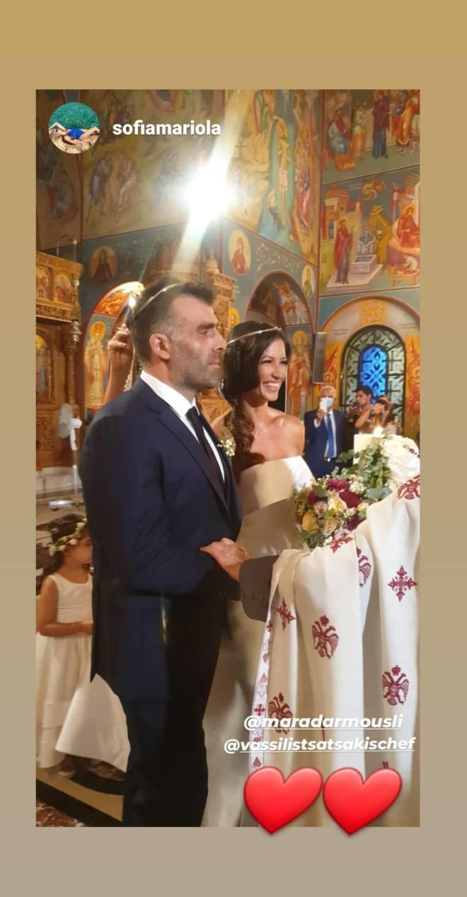 μαρα δαρμουσλη γάμος
