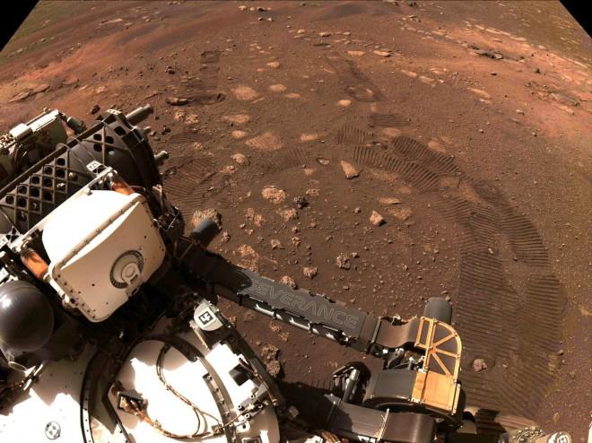 Perseverance πρώτη βόλτα στον Άρη
