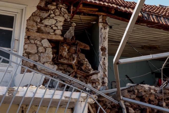 Σεισμός Ελασσόνα καταστροφές στο Μεσοχώρι
