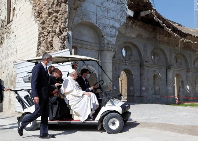 Πάπας Φραγίσκος Μοσούλη