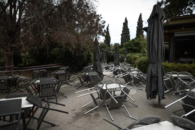 Οι επιχειρήσεις εστίασης παραμένουν κλειστές στην Αθήνα, από τις αρχές Νοεμβρίου- φωτογραφία Eurokinissi