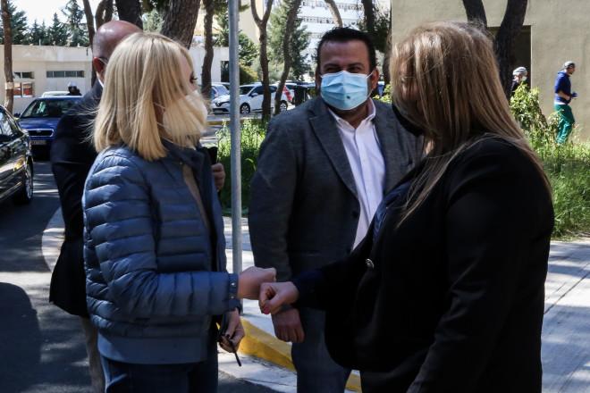 H Φώφη Γεννηματά επισκέφθηκε το νοσοκομείο Σωτηρία