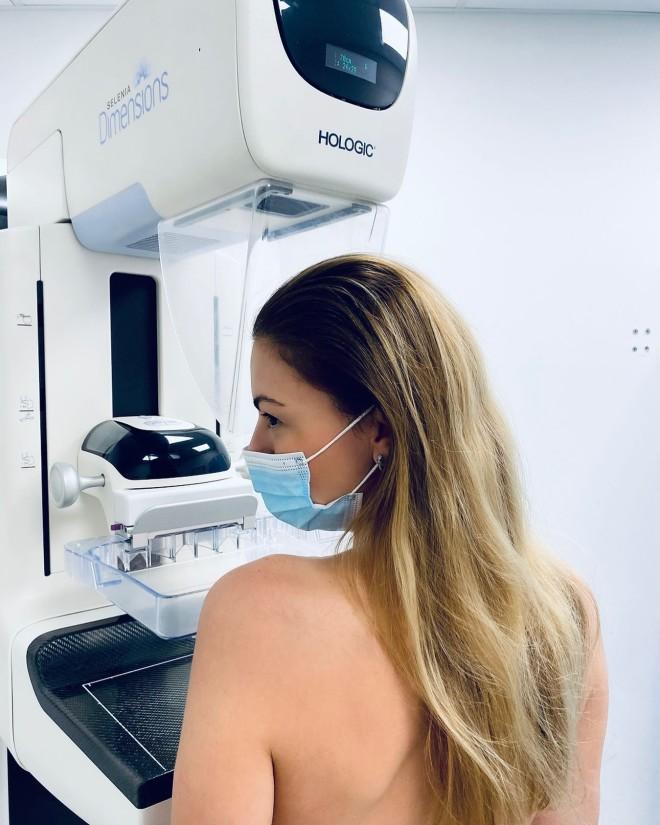 δεσποινα καμπούρη μαστογραφία