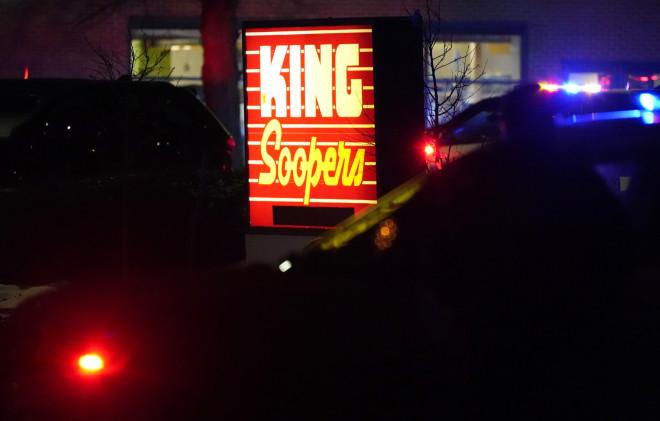 Το σούπερ μάρκετ, όπου έγινε η επίθεση
