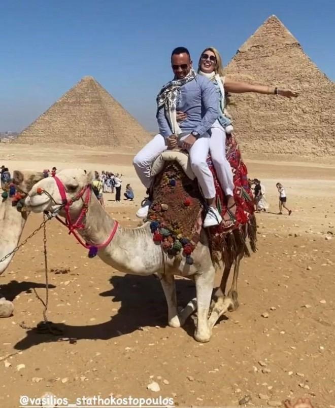 Κωνσταντίνα Σπυροπούλου Στην Αίγυπτο μετά το κράξιμο για τον Παρνασσό