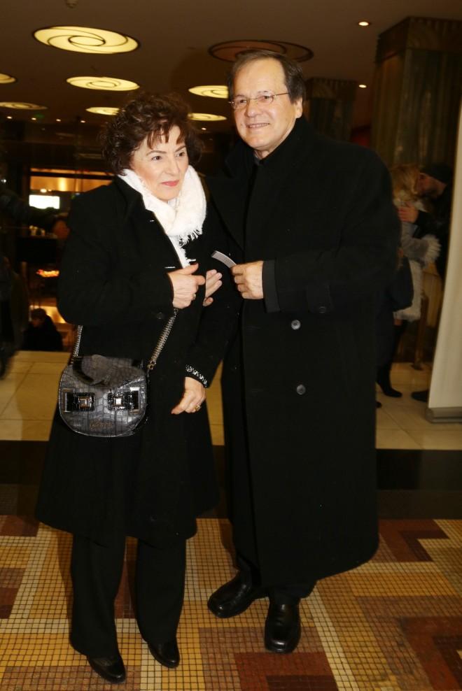 Νικολόπουλος με τη σύζυγό του