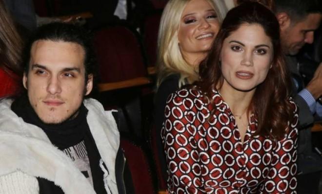 Η Μαίρη Συνατσάκη με τον πρώην σύντροφό της, Αιμιλιανό Σταματάκη