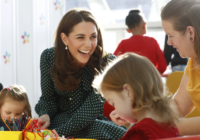 H Kate Middleton το «Evelina London Children's Hospital»