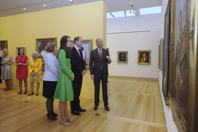 H Kate Middleton στην Εθνική Πινακοθήκη