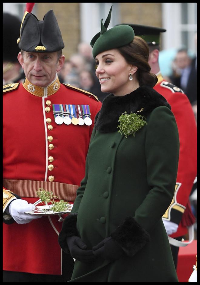 Η Κate Middleton όταν ήταν έγκυος είχε επιλέξει ξανά πράσινο