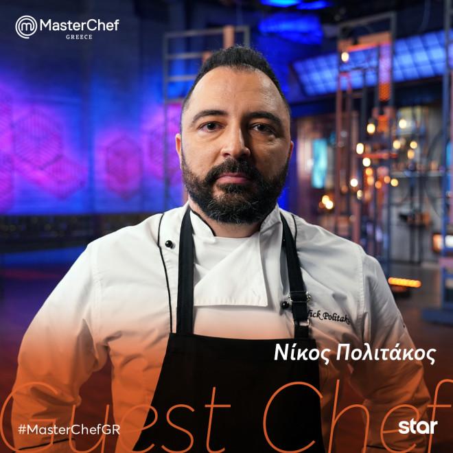 Master Chef 5 Πολιτάκος