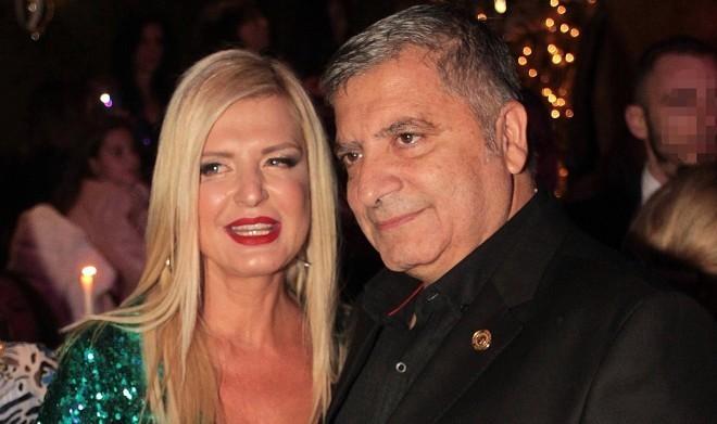 Ο περιφερειάρχης Αττικής Γιώργος Πατούλης και η σύζυγός του Μαρίνα Πατούλη παίρνουν διαζύγιο